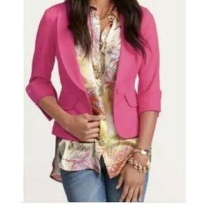 Cabi Power Pink Blazer Style 320